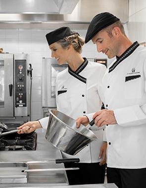 Vêtements professionnels pour la cuisine