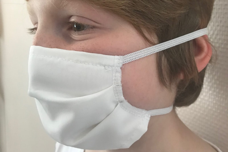 masques lavables pour enfants
